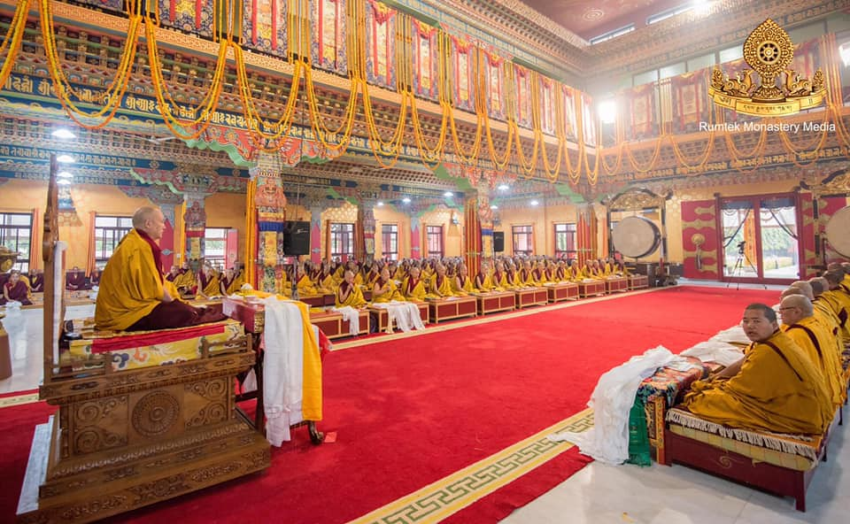 His Eminence Goshir Gyaltsab Rinpoche Inaugurates the 5th Arya Kshema