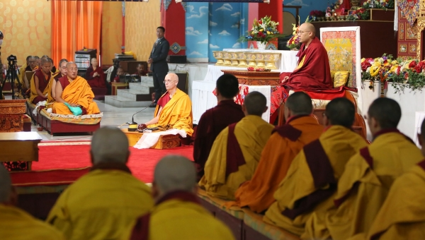 Developing Genuine Bodhichitta: The Gyalwang Karmapa Continues His Discussion on the 6th Day of Arya Kshema Teachings