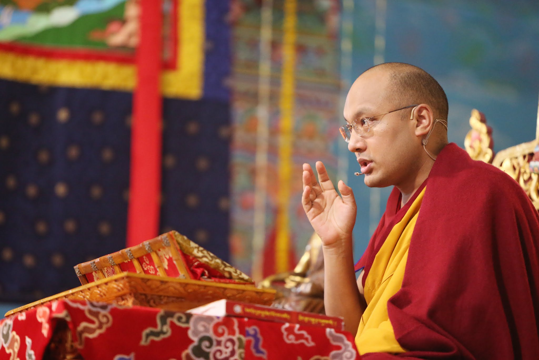The Gyalwang Karmapa Teaches on Developing Confidence in the Power of Confession