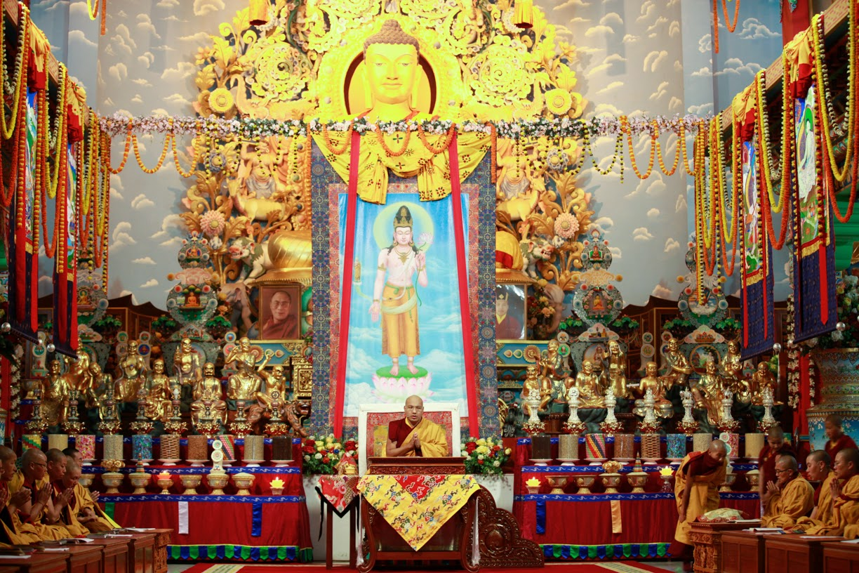 A Special Ritual for the Nuns' Dharma to Flourish
